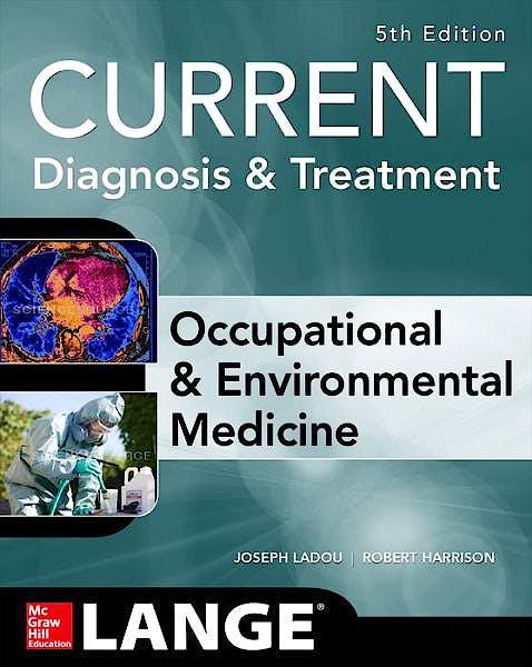 Portada del libro 9780071808156 Current Occupational and Environmental Medicine. Lange