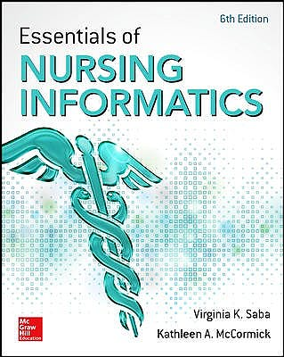 Portada del libro 9780071829557 Essentials of Nursing Informatics