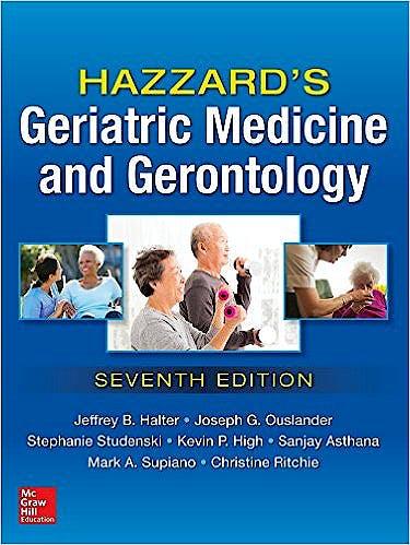 Portada del libro 9780071833455 Hazzard's Geriatric Medicine and Gerontology