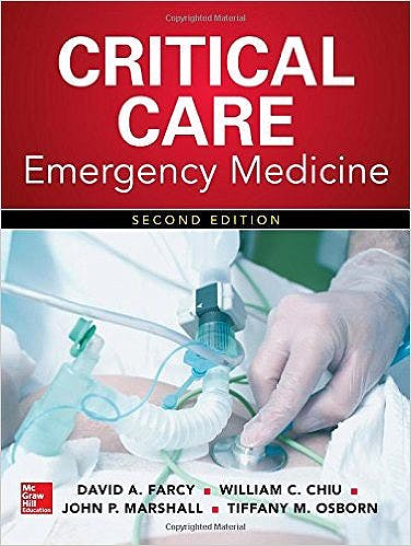Portada del libro 9780071838764 Critical Care Emergency Medicine