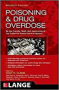 Portada del libro 9780071839792 Poisoning and Drug Overdose. Lange