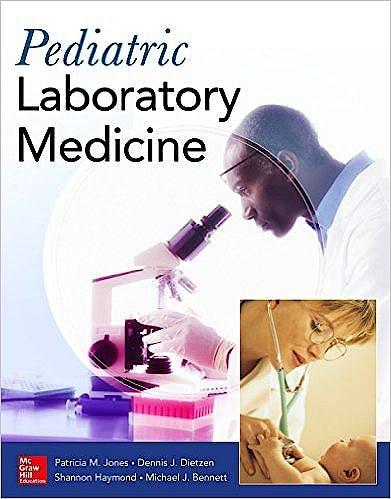 Portada del libro 9780071840996 Pediatric Laboratory Medicine