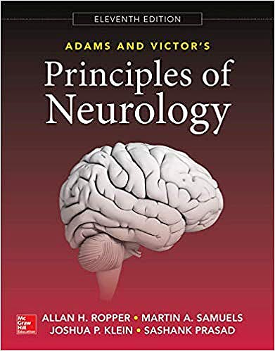 Portada del libro 9780071842617 Adams and Victor's Principles of Neurology