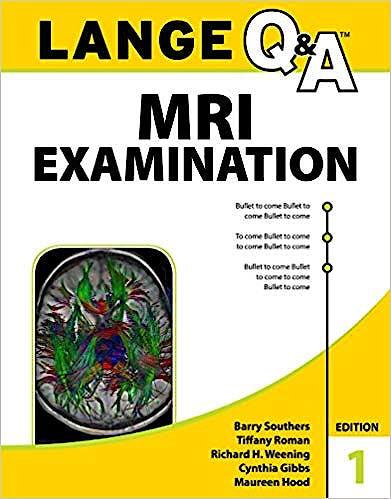 Portada del libro 9780071843690 LANGE Q&A MRI Examination