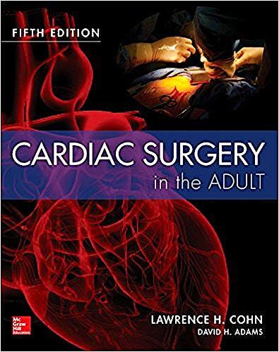 Portada del libro 9780071844871 Cardiac Surgery In The Adult