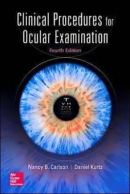Portada del libro 9780071849203 Clinical Procedures for Ocular Examination