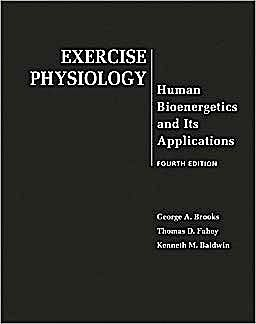 Portada del libro 9780072556421 Exercise Physiology. Human Bioenergetics and Its Applications