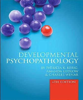 Portada del libro 9780077131210 Developmental Psychopathology