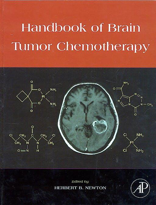 Portada del libro 9780120884100 Handbook of Brain Tumor Chemotherapy