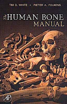 Portada del libro 9780120884674 The Human Bone Manual