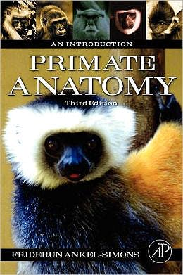 Portada del libro 9780123725769 Primate Anatomy. An Introduction