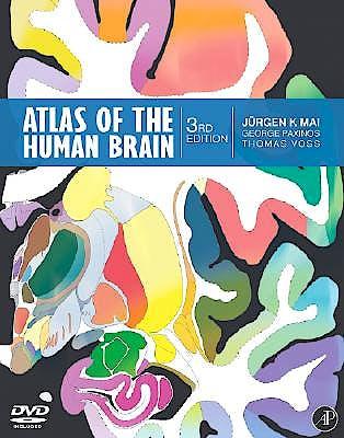 Portada del libro 9780123736031 Atlas of the Human Brain + Dvd-Rom