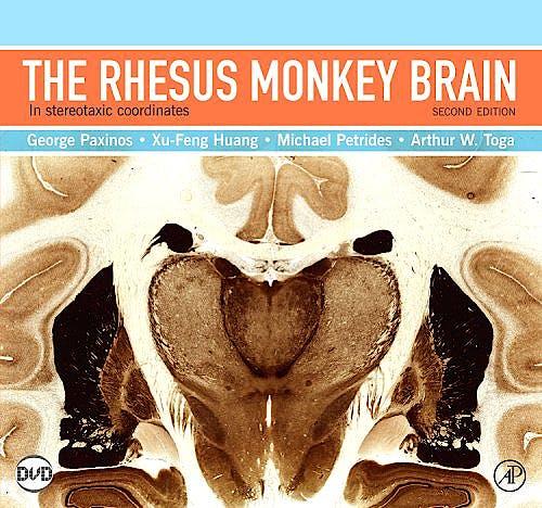 Portada del libro 9780123736192 The Rhesus Monkey Brain in Stereotaxic Coordinates