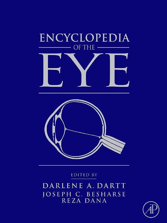 Portada del libro 9780123741981 Encyclopedia of the Eye, 4 Vols.