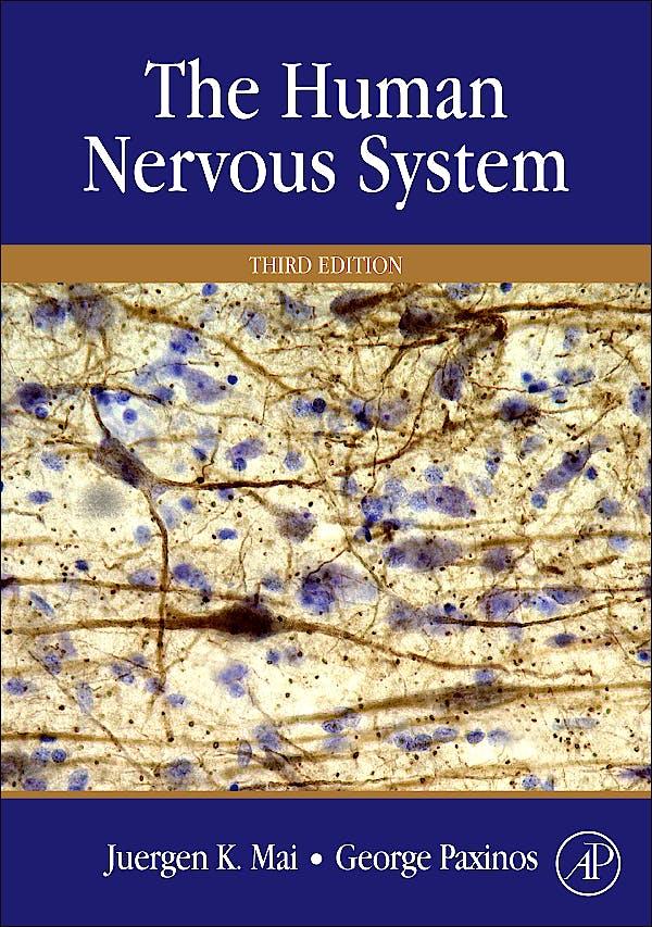 Portada del libro 9780123742360 The Human Nervous System