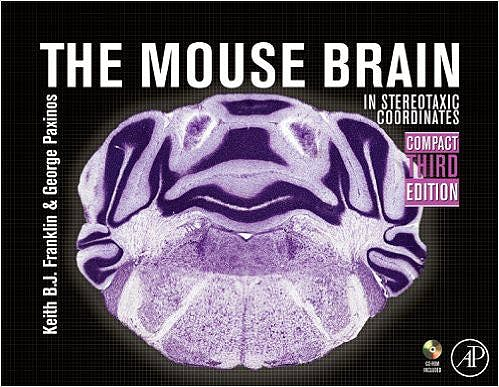Portada del libro 9780123742445 The Mouse Brain in Stereotaxic Coordinates