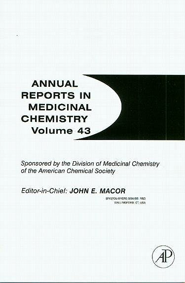 Portada del libro 9780123743442 Annual Reports in Medicinal Chemistry, Vol. 43