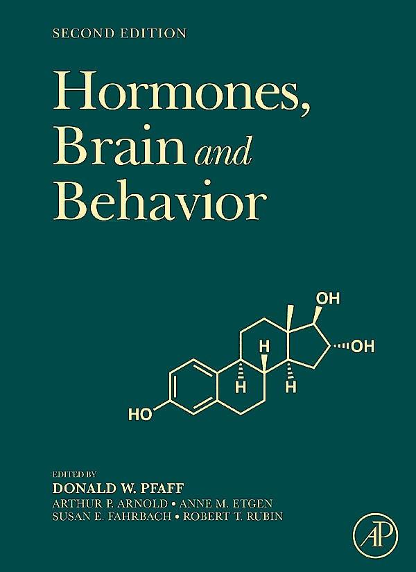 Portada del libro 9780123743824 Hormones, Brain and Behavior