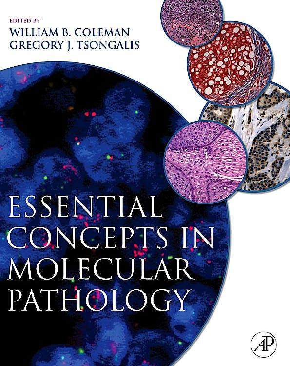 Portada del libro 9780123744180 Essential Concepts in Molecular Pathology