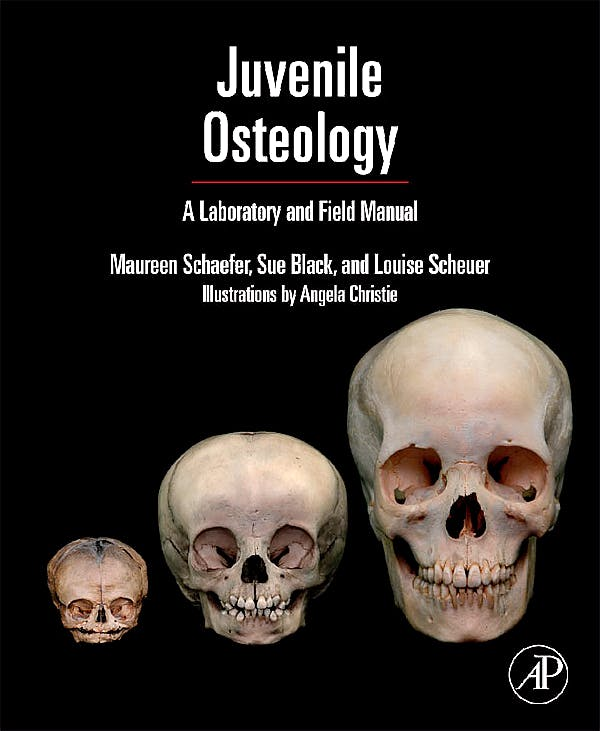 Portada del libro 9780123746351 Juvenile Osteology. a Laboratory and Field Manual