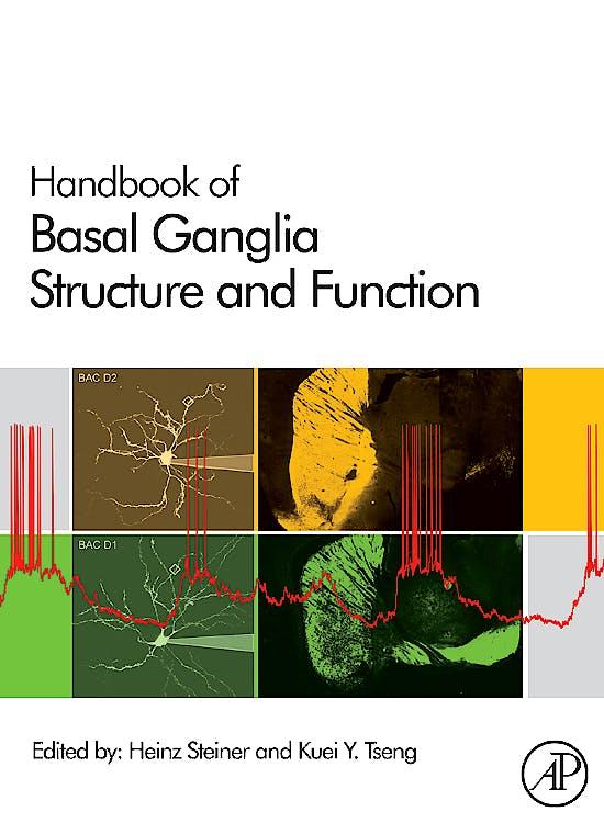 Portada del libro 9780123747679 Handbook of Basal Ganglia Structure and Function