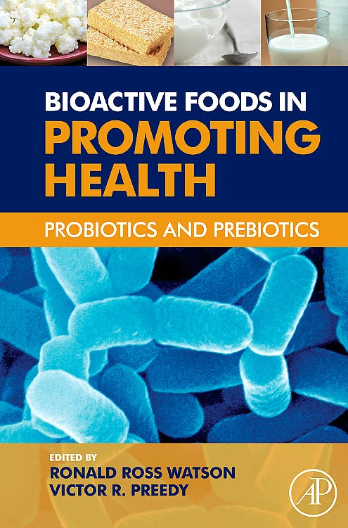 Portada del libro 9780123749383 Bioactive Foods in Promoting Health. Probiotics and Prebiotics