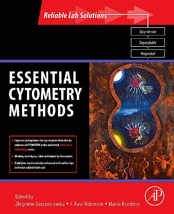 Portada del libro 9780123750457 Essential Cytometry Methods