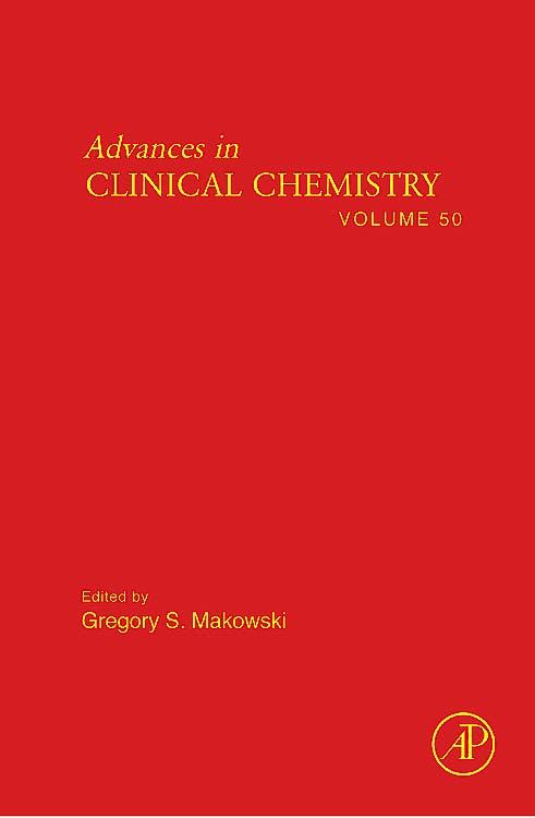 Portada del libro 9780123809834 Advances in Clinical Chemistry, Vol. 50