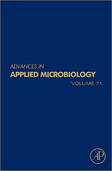 Portada del libro 9780123809933 Advances in Applied Microbiology, Vol. 71