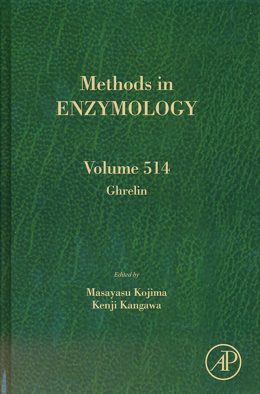 Portada del libro 9780123812728 Ghrelin (Methods in Enzymology, Vol. 514)