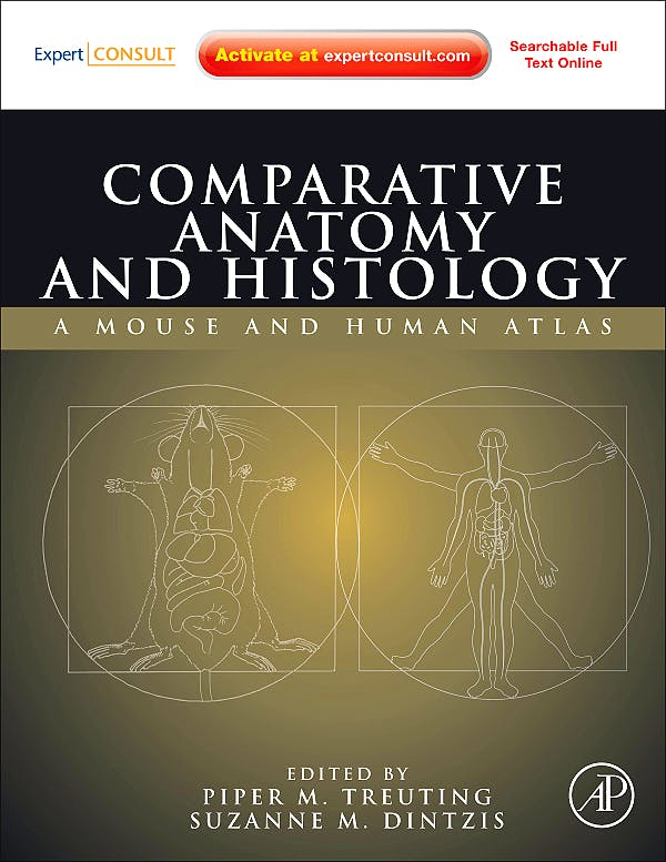 Portada del libro 9780123813619 Comparative Anatomy and Histology. A Mouse and Human Atlas (Online and Print)