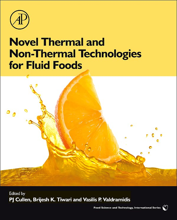 Portada del libro 9780123814708 Novel Thermal and Non-Thermal Technologies for Fluid Foods