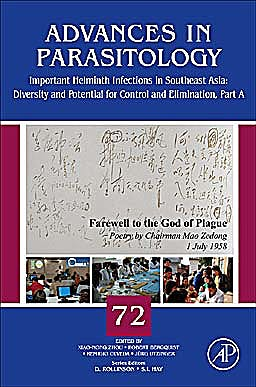 Portada del libro 9780123815132 Advances in Parasitology, Vol. 72: Important Helminth Infections in Southeast Asia: Diversity and Potential for Control and Elimination, Part A