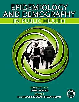 Portada del libro 9780123822000 Epidemiology and Demography in Public Health