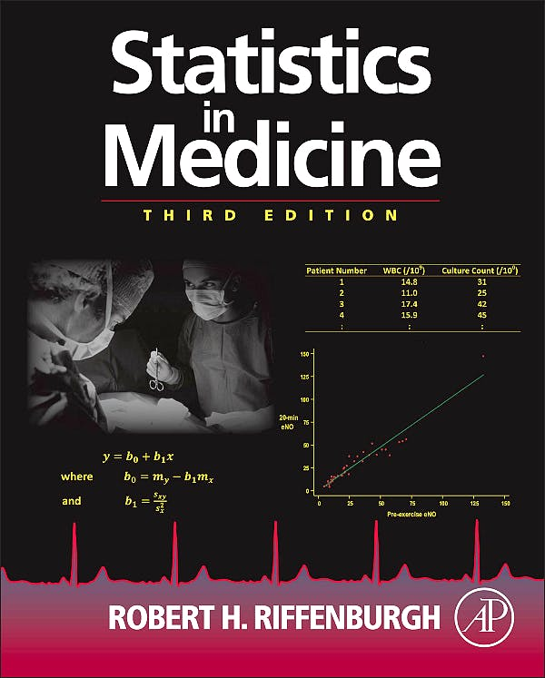 Portada del libro 9780123848642 Statistics in Medicine