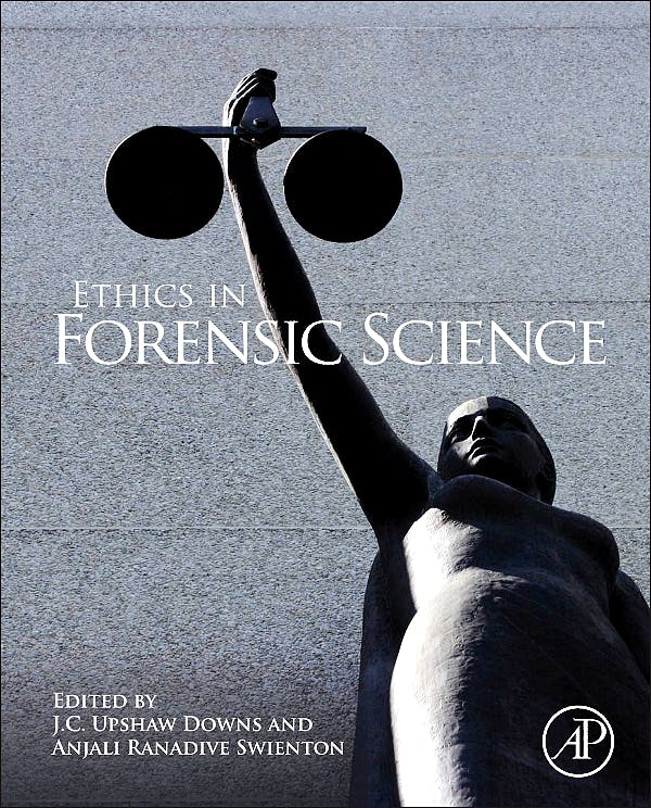 Portada del libro 9780123850195 Ethics in Forensic Science