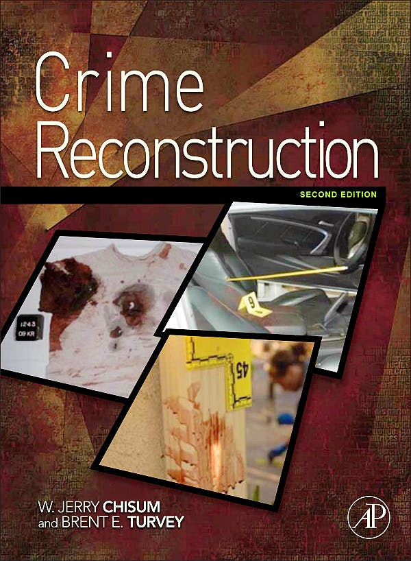 Portada del libro 9780123864604 Crime Reconstruction