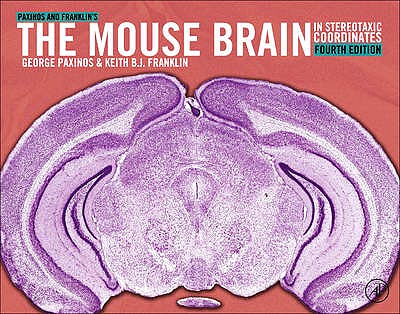 Portada del libro 9780123910578 Paxinos and Franklin's the Mouse Brain in Stereotaxic Coordinates