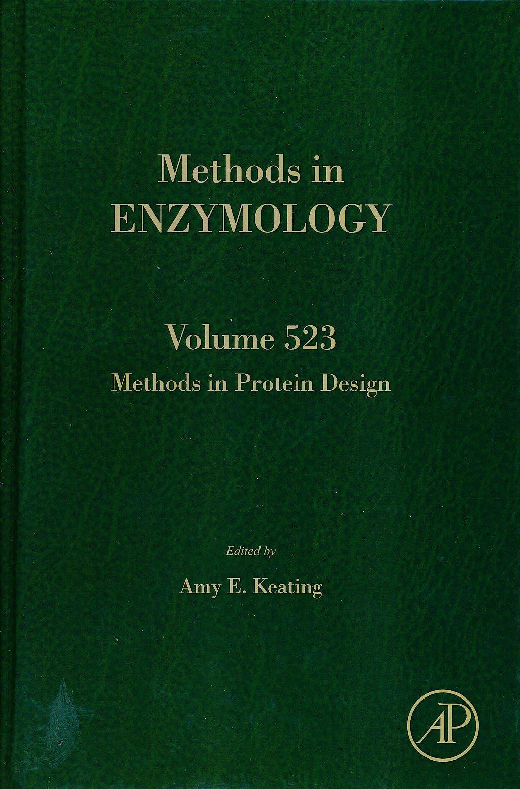 Portada del libro 9780123942920 Methods in Protein Design (Methods in Enzymology, Vol. 523)