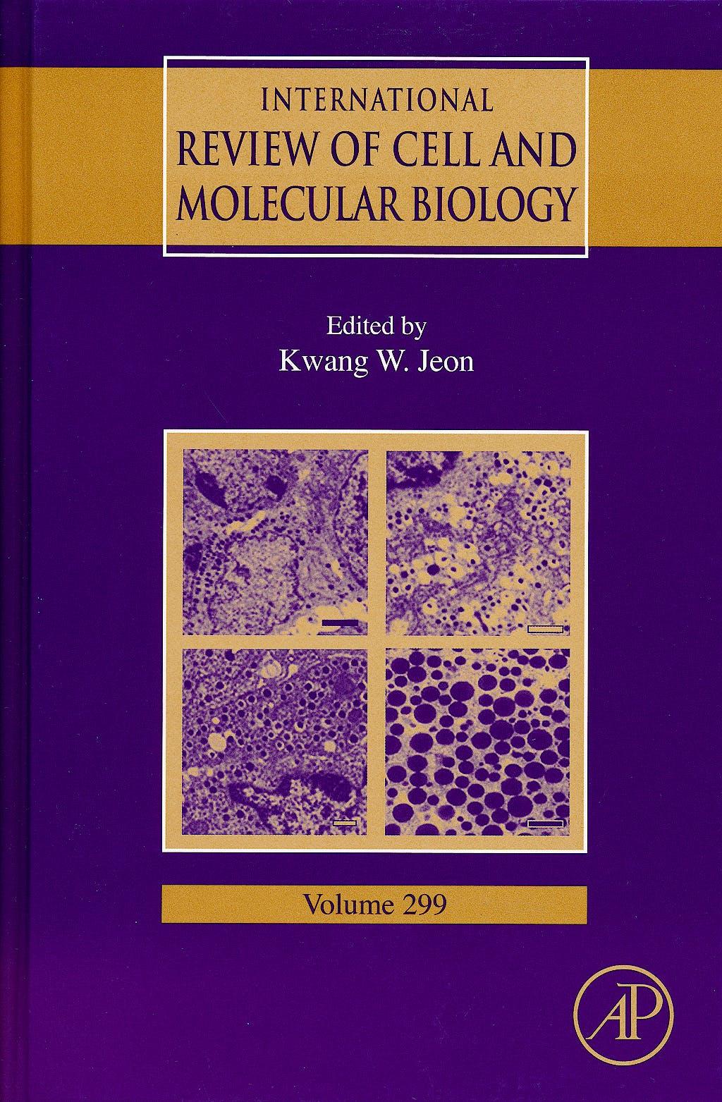 Portada del libro 9780123943101 International Review of Cell and Molecular Biology, Vol. 299