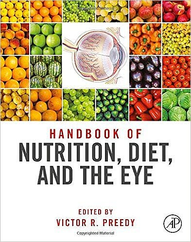 Portada del libro 9780124017177 Handbook of Nutrition, Diet and the Eye