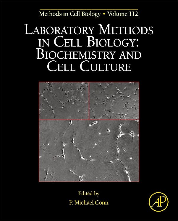 Portada del libro 9780124059146 Laboratory Methods in Cell Biology: Biochemistry and Cell Culture (Methods in Cell Biology, Vol. 112)