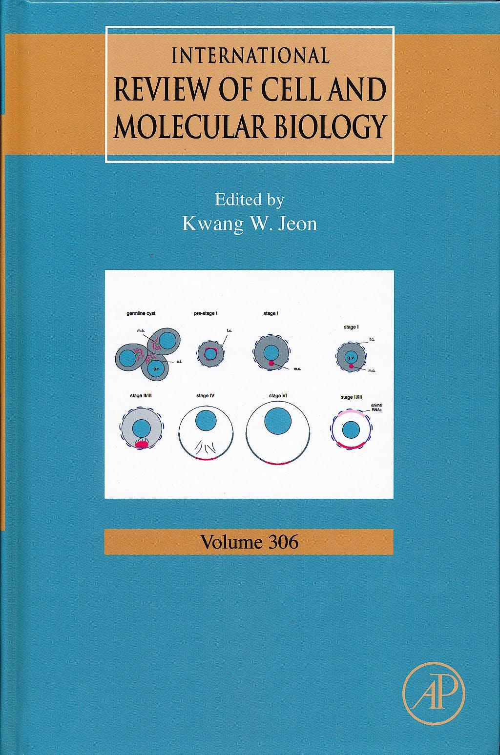 Portada del libro 9780124076945 International Review of Cell and Molecular Biology, Vol. 306