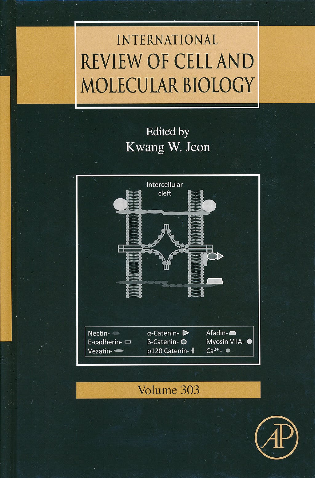 Portada del libro 9780124076976 International Review of Cell and Molecular Biology, Vol. 303