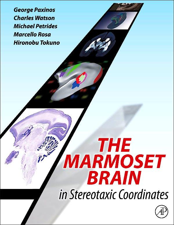 Portada del libro 9780124158184 The Marmoset Brain in Stereotaxic Coordinates