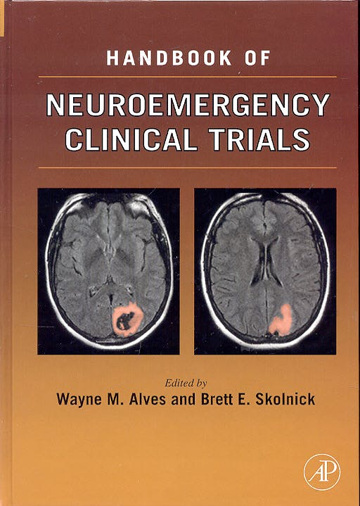 Portada del libro 9780126480825 Handbook of Neuroemergency Clinical Trials