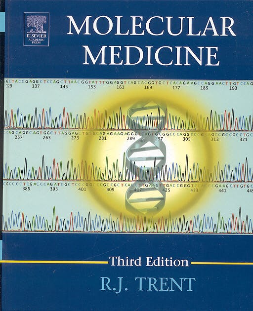 Portada del libro 9780126990577 Molecular Medicine