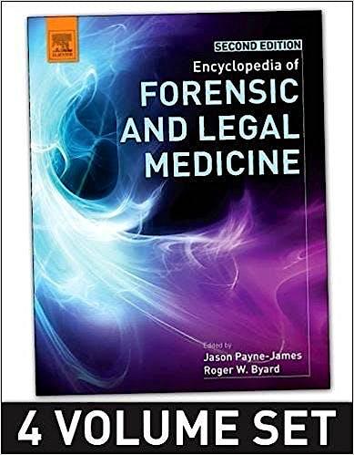 Portada del libro 9780128000342 Encyclopedia of Forensic and Legal Medicine (4 Volume Set)