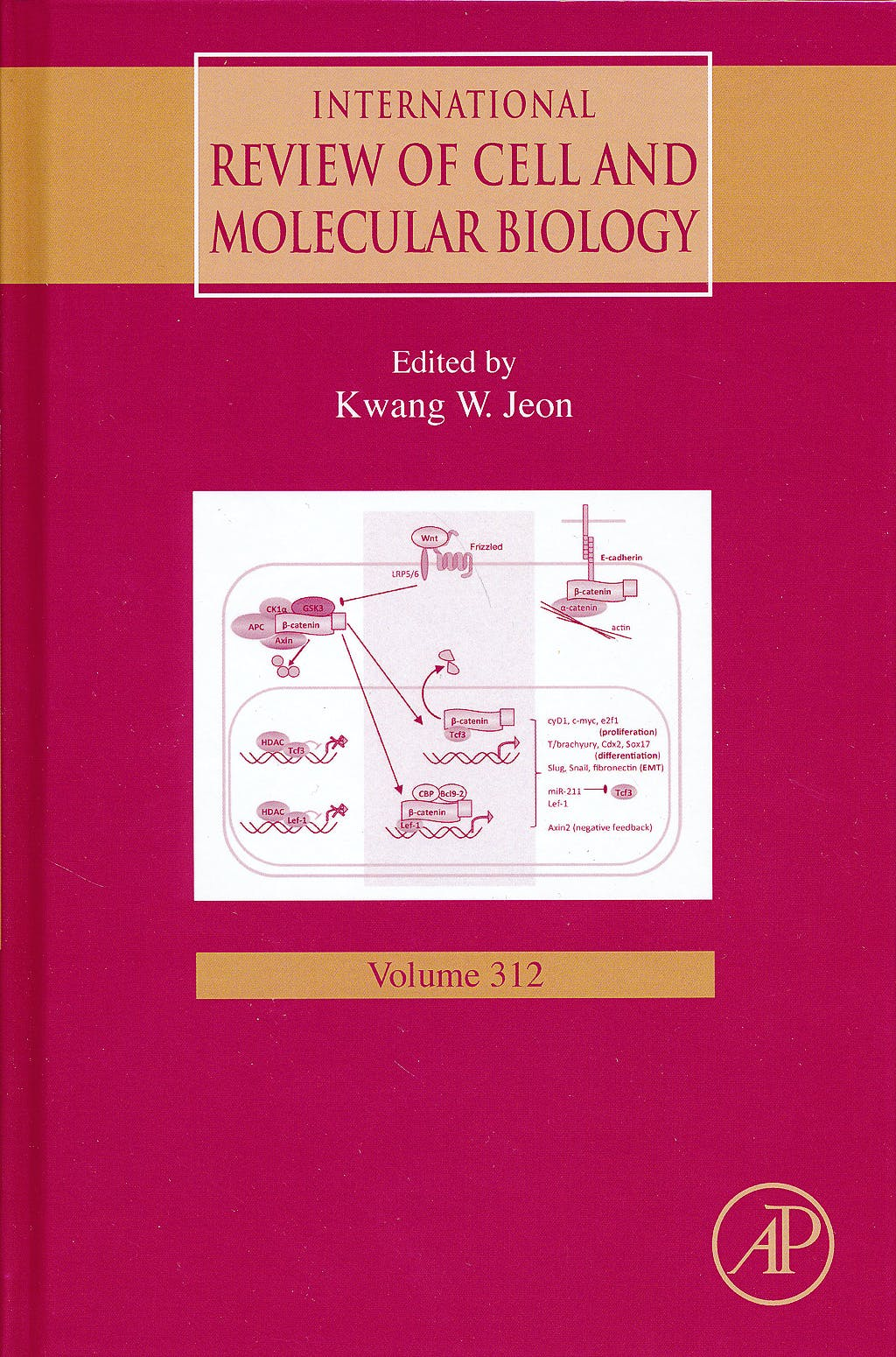 Portada del libro 9780128001783 International Review of Cell and Molecular Biology, Vol. 312