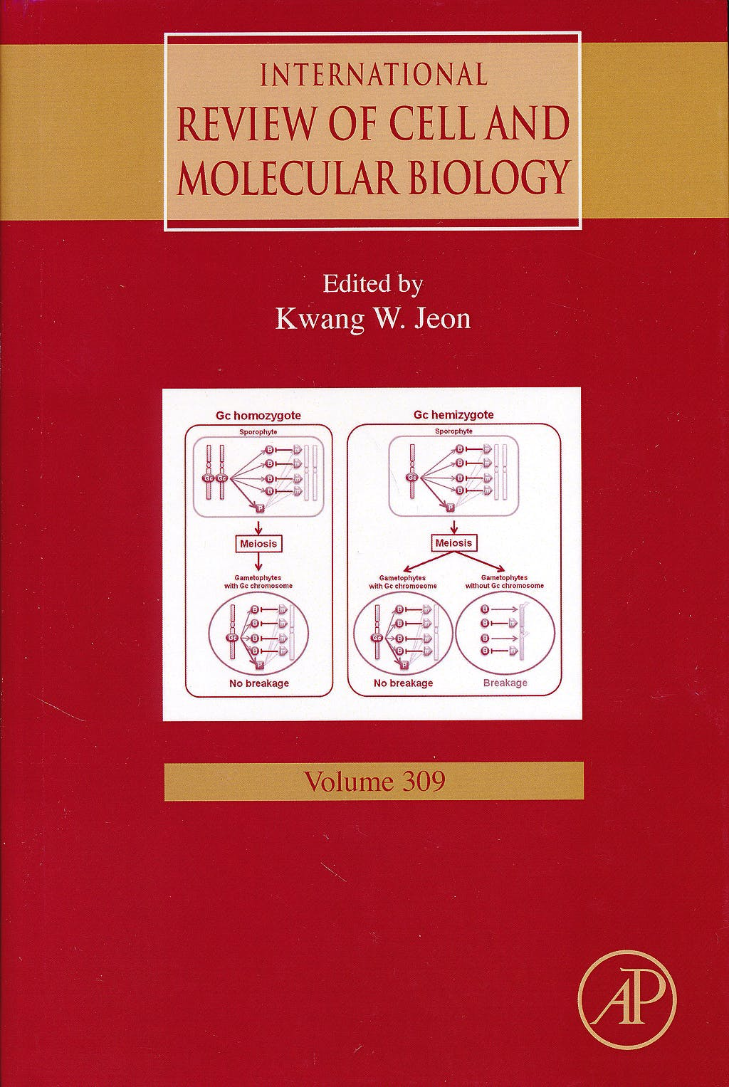 Portada del libro 9780128002551 International Review of Cell and Molecular Biology, Vol. 309